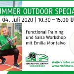 Summer Outdoor Special 2020 im Vereinssportzentrum